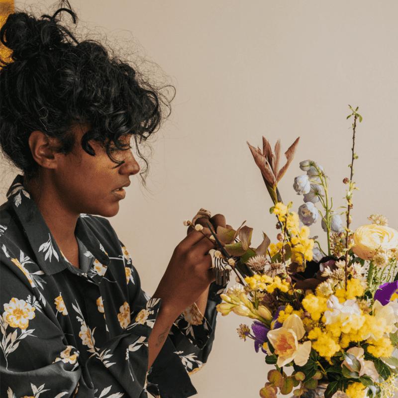Alice Rangayen fleuriste toulouse
