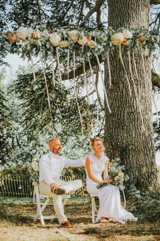 mariés-fleurs